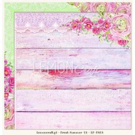 Дизайнерска хартия, лист - Fresh summer 03