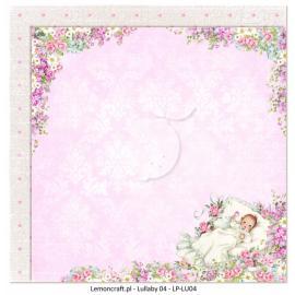 Дизайнерска хартия, 12x12 - Lullaby 4