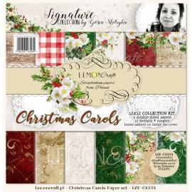 Дизайнерска хартия, блокче 12x12 - Christmas Carols