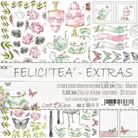 """""""Дизайнерски елементи за изрязване 15.5x30.5 - Felici""""""""tea"""""""""""""""