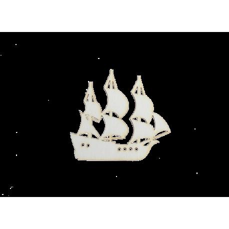 Бирен картон - корабче
