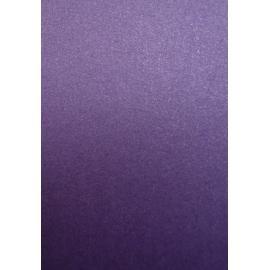 Картон металик - тъмно лилав