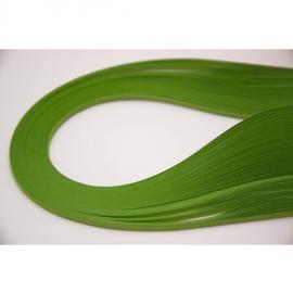 Квилинг лентички 100 бр, 35 см - майско зелен