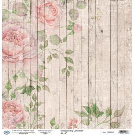 Дизайнерска хартия, лист - Vintage Story