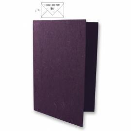 Японска хартия, основа за картичка, слива