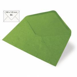 Японска хартия, плик, тревисто зелено