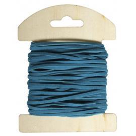 Велурена панделка, тъмно синя