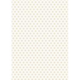 Дизайнерска хартия, А4 - Средни точки, бежово 2