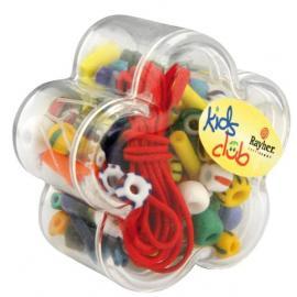 Разноцветни мъниста в кутия