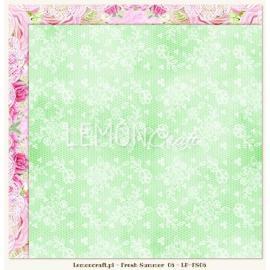 Дизайнерска хартия, лист - Fresh summer 06