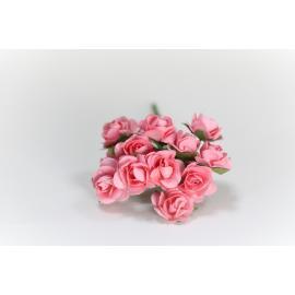 Хартиени розички15 мм, 12 бр, розови
