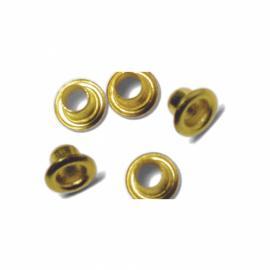 Айлетс - големи и малки кръгчета, златни