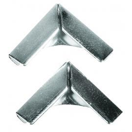 Метални ъгълчета, сребърни, големи