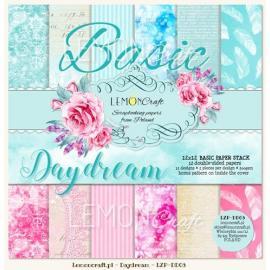 Дизайнерска хартия, блокчe - Daydream, 12х12 инча