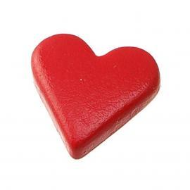 Капси сърца, червени