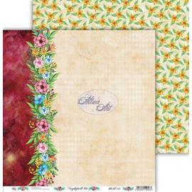 Дизайнерска хартия, лист - Nightfall 1