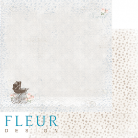 Дизайнерска хартия, лист Бебе момче, Разходка