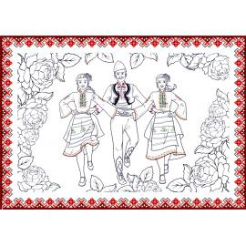 Картичка за оцветяване