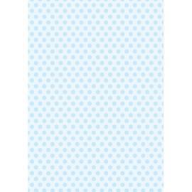 Дизайнерска хартия, А4 - Средни точки, синьо 2