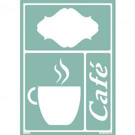 Гъвкав шаблон-кафе