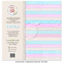 Дизайнерска хартия, блокче 12х12 - Lullaby 3