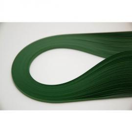 Квилинг лентички 100 бр, 35 см - ябълково зелен
