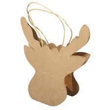 Папие маше - торбичка елен