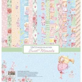 Дизайнерска хартия,12x12 инча, Sweet Moments