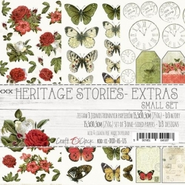 Дизайнерски елементи за изрязване 15.5x30.5 - Heritage Stories