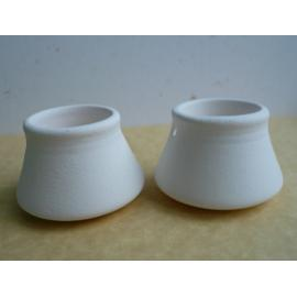 Керамично менче - бяло