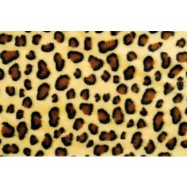 Плюш - леопард, 5мм, 50х70