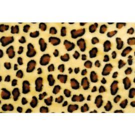Плюш - леопард, 8 мм