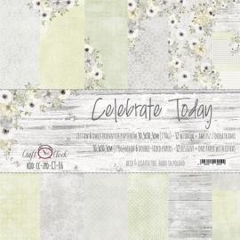 Дизайнерска хартия, блокче 12x12 - Selebrate Today