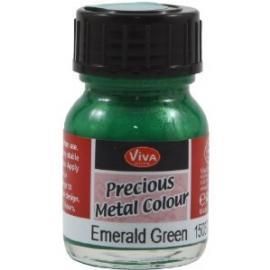 Боя - течен метал, смарагдово зелено