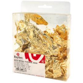 Деко метал фолио - злато