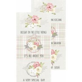 Дизайнерска хартия, блокче - My Precious Girl картички