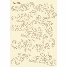 Бирен картон - сет 638 орнаменти