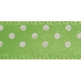 Панделка на точки - зелена