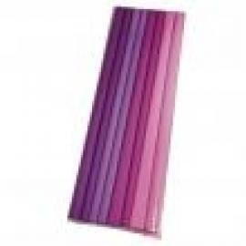 Креп хартия - розово-лилава гама