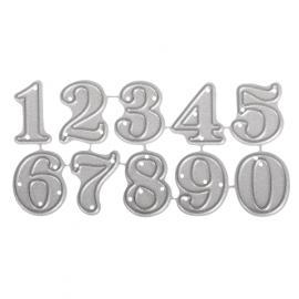 Шаблон за рязане-малки цифрички