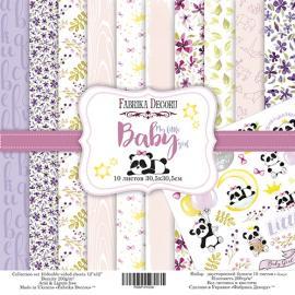 Дизайнерска хартия, блокче My little babygirl 12x12 инча