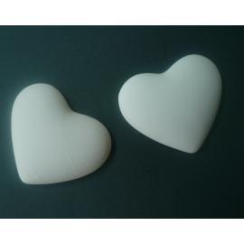 Керамично сърце, плоско