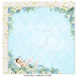 Дизайнерска хартия, 12x12 - Lullaby 6