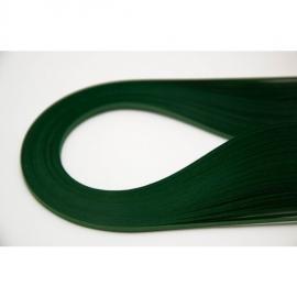 Квилинг лентички 100 бр, 35 см - елхово зелен