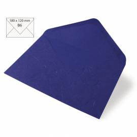 Японска хартия, плик, тъмносиньо
