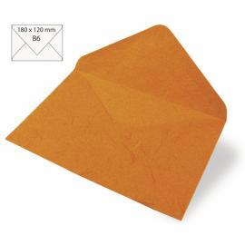 Японска хартия, плик, оранжево