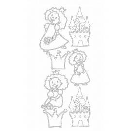 Стикери - принцеси и замъци