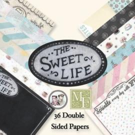 Дизайнерска хартия, блокче 6х6 Сладък живот