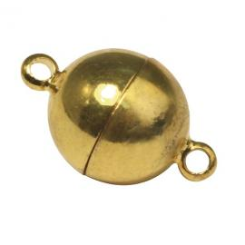 Закопчалка-златна,топче10мм