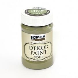 Боя за деккорация SOFT 100мл - маслина